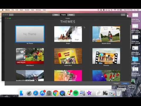 iMovie 10 - Green Screen Directions