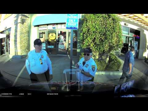 Volunteer Police See Handicap Placard Give Ticket Anyway Busted By Dash Cam dub