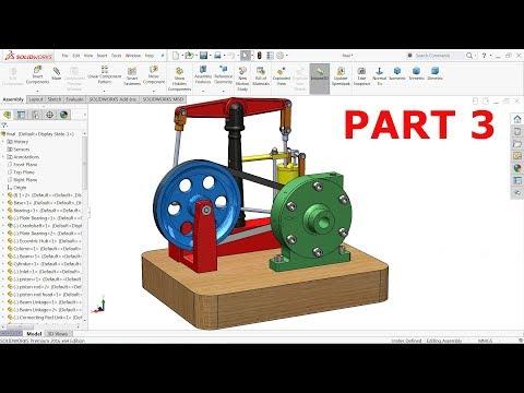 Solidworks Tutorial Steam engine Part 3