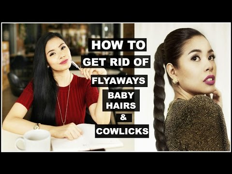 How To Get Rid of Flyaways -Tame Baby Hair & Cowlicks-Beautyklove