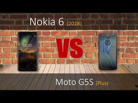 Nokia 6 2018 VS Moto G5S plus