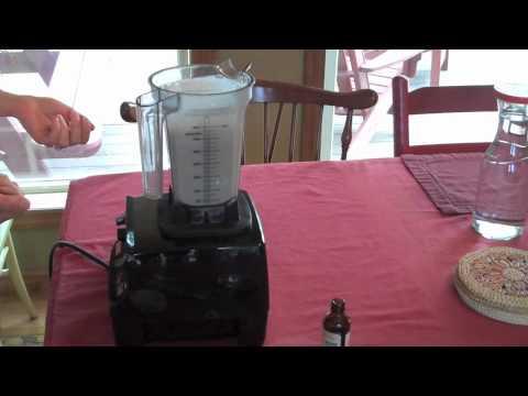 Raw Almond Milk in the Vitamix (no straining)