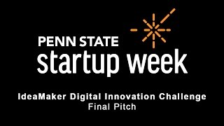 Penn State Startup Week 2017 - IdeaMaker Competition and Mike Black, Told Media and ParkingBee