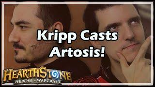 [hearthstone] Kripp Casts Artosis!