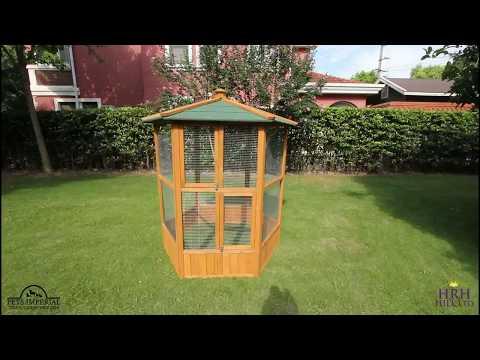 Pan Video - New Bird Aviary Design