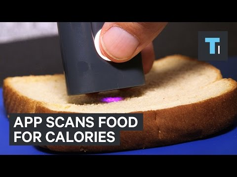App scans food for calories