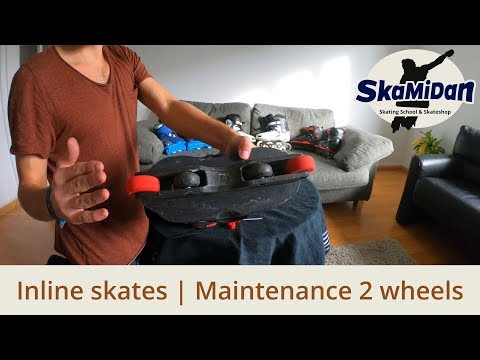 Two Wheels Skates: Wheels Maintenance, Rotate, Turn Or Replace? That's it! Inline Know-How #06/3