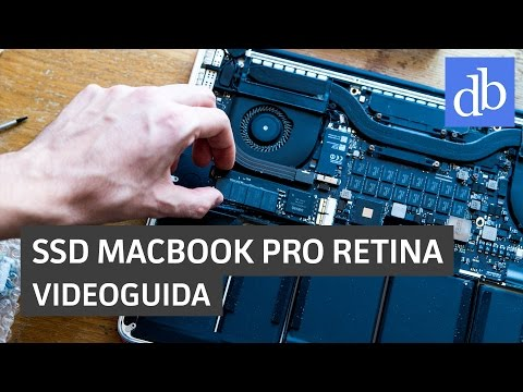 Come sostituire l'SSD del MacBook Pro Retina: guida • Ridble