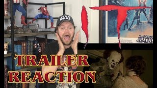 IT (2017) TRAILER #1 REACTION