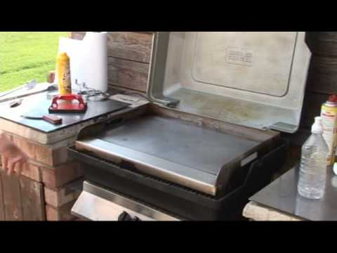 How to clean the Griddle-Q