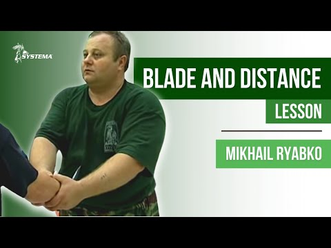 Blade and Distance Lesson