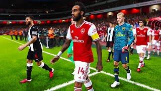Arsenal vs Newcastle - English Premier League 16 Feb 2020 | PES 2020 Gameplay