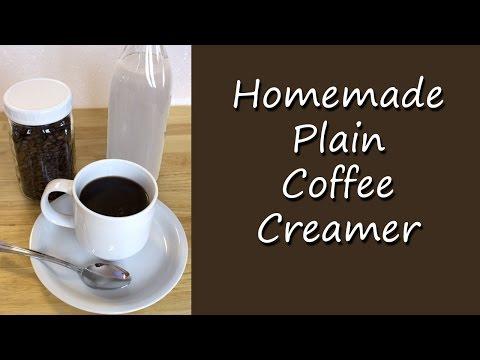 Homemade Plain Coffee Creamer Recipe