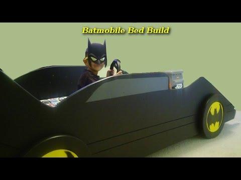 Batmobile Bed Build