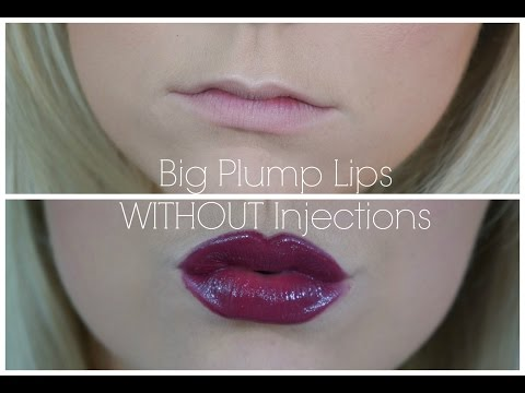 How To Get Big Plump Lips Without Injections + GIVEAWAY