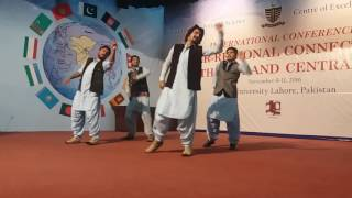 Balochi Modern Dance by  HK SOOMRO with his collegues in GCU Lahore