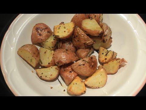 Fresh ~  Chive & Rosemary ~  Roasted New Potatoes