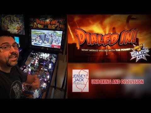 DIALED IN - Jersey Jack Pinball (unboxing / first play / discussion HD)