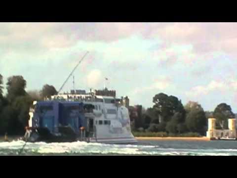 Condor Vitesse arriving Poole/Sandbanks Ferry