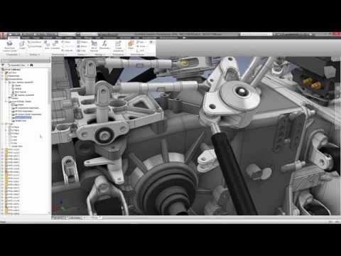 Autodesk Inventor - Custom Gearbox Design
