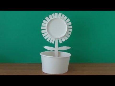 Paper Cup Flower  紙コップでつくるお花