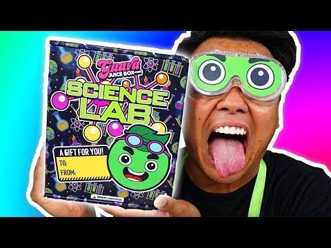*NEW* GUAVA JUICE BOX Science Lab Kit! (Unboxing)