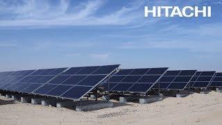 Solution: Hitachi solar-powered desalination plants, Abu Dhabi - Hitachi