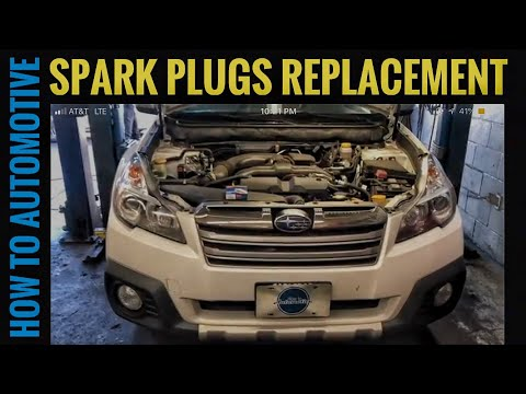 How to Replace the Spark Plugs on a 2009-2014 Subaru Outback with 2.5L Engine