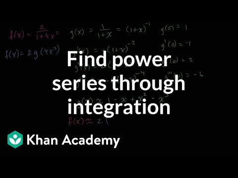 Power series of arctan(2x) | Series | AP Calculus BC | Khan Academy