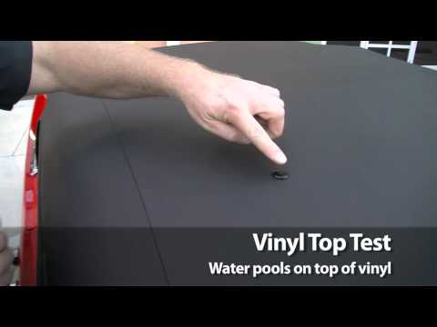 How to Test for a Vinyl Convertible Top