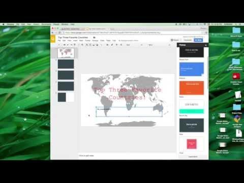 Google Slides Basics #4 Adding and Changing Text