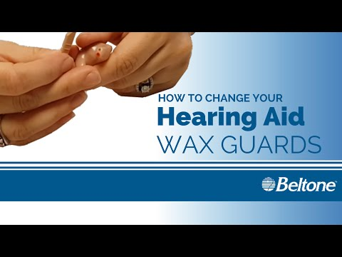 How To Change The Wax Guard On Your Beltone Hearing Aids