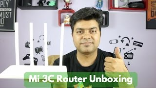 Xiaomi Router 3C India Unboxing, Review, Setup Instructions | Gadgets To Use