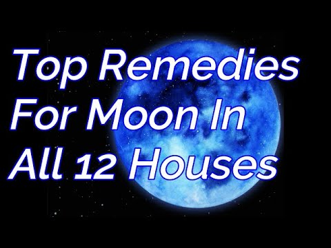 Top Remedies For Moon In All 12 Houses#REMEDIES FOR BAD MOON#Moon Remedies#Chandra shubh-ashubh