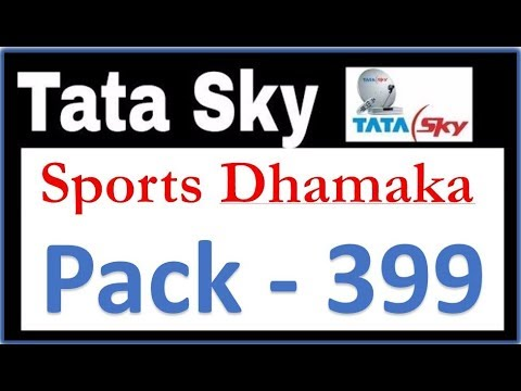 Tatasky Sports Dhamaka Pack - 399