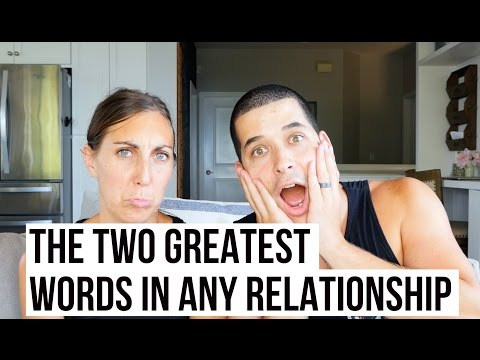 The 2 Greatest Words In Any Relationship | Jefferson & Alyssa Bethke