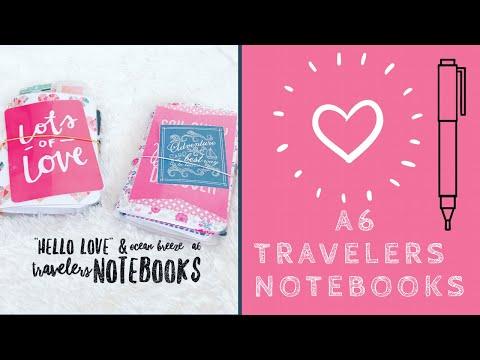 Travelers Notebooks I Made!!