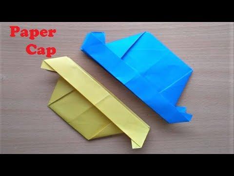 Incredible Making Paper Hat at Home - DIY Origami Paper Cap - Easy Tutorial for Paper Cap