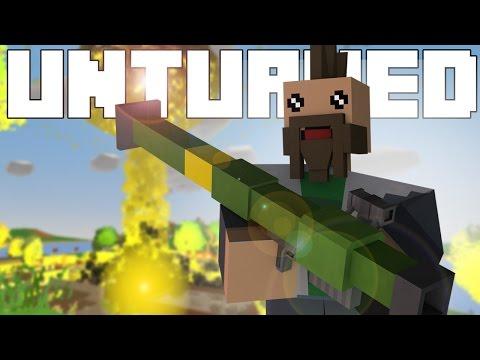 NUKE LAUNCHER?!?- Unturned Top 5 Gun Mods / Showcase