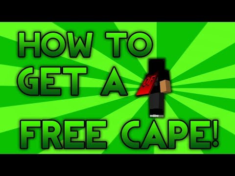 How to get a free minecraft labymod cape!!!! (2017)
