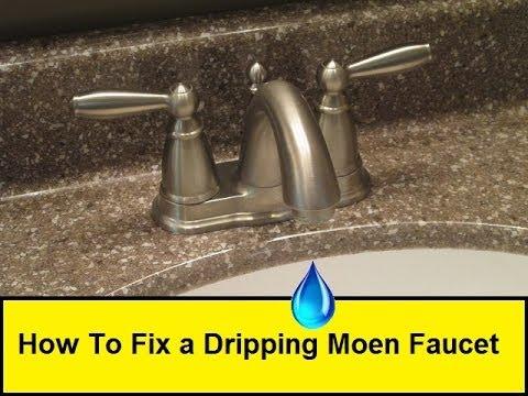How To Fix a Dripping Moen Faucet (HowToLou.com)
