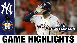 Carlos Correa's walk-off home run powers Astros to ALCS Game 2 win | Astros-Yankees MLB Highlights
