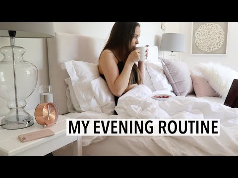 MY NIGHT/ EVENING ROUTINE 2018 - Weeknight, Trying to relax after a long day :)