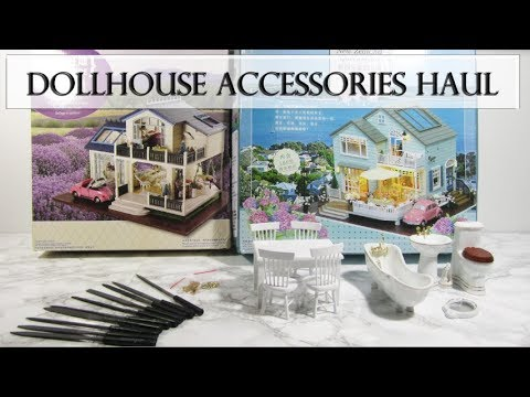 Haul: Dollhouse Kits and Accessories