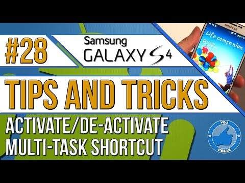 Samsung Galaxy S4 Tips and Tricks #28: Activate and Using Multi-tasking