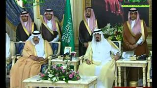 #x202b;كلمة الشيخ صالح المغامسي امام الملك عبدالله#x202c;lrm;