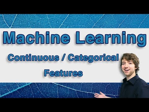 Machine Learning and Predictive Analytics - Continuous and Categorical Features (Cardinality)