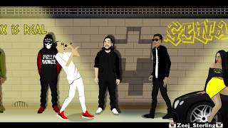 Rygin King vs Masicka Ft Squash [Dancehall Street Clash] 2019