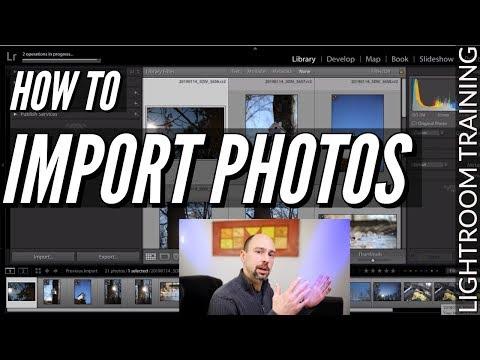 Importing Photos In Lightroom Classic CC - Lesson #2