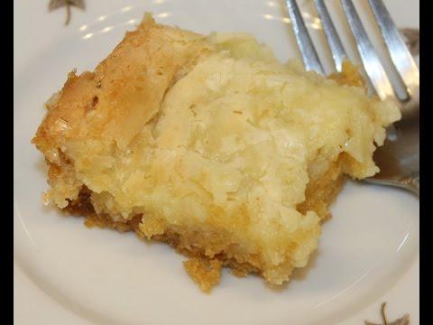 Making Paula Deen's Ooey Gooey Butter Cake – Recipe